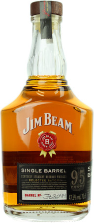Jim Beam Single Barrel Kentucky Straight Bourbon Whiskey 0,7l, alc. 47,5 Vol.-%