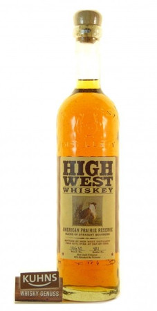 High West American Prairie Reserve Bourbon Whiskey 0,7l, alc. 46 Vol.-% USA Whiskey
