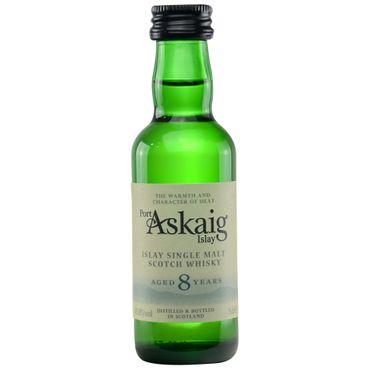 Port Askaig 8 Jahre Miniatur Islay Single Malt Scotch Whisky 0,05l, alc. 45,8 Vol.-%