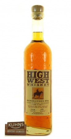 High West Rendezvous Rye Whiskey 0,7l, alc. 46 Vol.-%, USA Blended Rye Whiskey