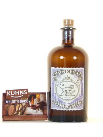 Monkey 47 Dry Gin 0,5l, alc. 47 Vol.-%, Dry Gin Deutschland
