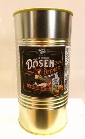 Dosenöffner Haselnuss-Likör 0,35l, alc. 20 Vol.-%