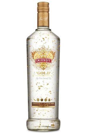 Smirnoff Gold Cinnamon Flavoured 0,7l, alc. 37,5 Vol.-%, Wodka-Likör USA