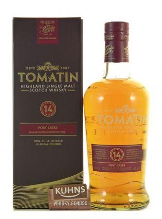 Tomatin 14 Jahre Highland Single Malt Scotch Whisky 0,7l, alc. 46 Vol.-%