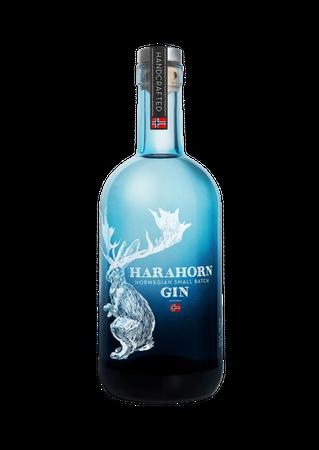 Harahorn Norwegian Small Batch Gin 0,5l, alc. 46 Vol.-%, Gin Norwegen