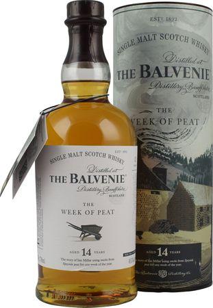 Balvenie 14 Jahre Week of Peat Speyside Single Malt Scotch Whisky 0,7l, alc. 48,3 Vol.-%