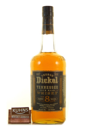 George Dickel No.8 Tennessee Whisky 1,0l, alc. 40 Vol.-%, USA Whisky
