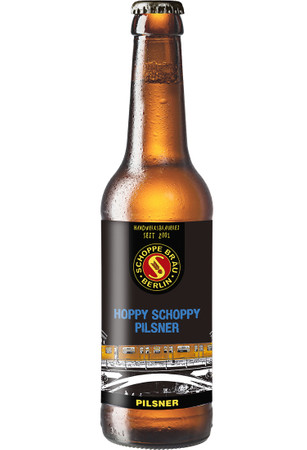 Schoppe Bräu Hoppy Schoppy 0,33l, alc. 5,2 Vol.-%, Craft Beer aus Deutschland