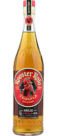 Rooster Rojo Anejo 0,7l, alc. 38 Vol.-%, Tequila Mexico