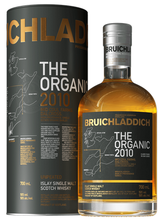 Bruichladdich Organic 2010 Islay Single Malt Scotch Whisky 0,7l, alc. 50 Vol.-%