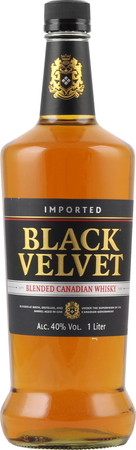 Black Velvet Blended Canadian Whisky 1,0l, alc. 40 Vol.-%