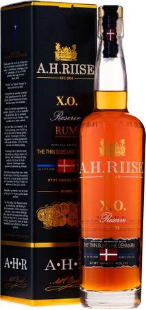 A.H.Riise X.O. Reserve The Thin Blue Line Denmark 0,7l, alc. 40 Vol.-%, Rum Virgin Island