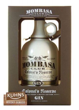 Mombasa Club Colonel's Reserve London Dry Gin 0,7l, alc. 43,5 Vol.-%