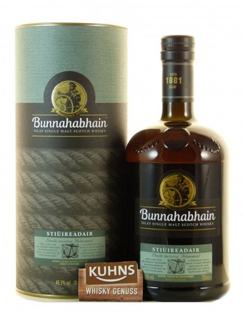 Bunnahabhain Stiùireadair Islay Single Malt Scotch Whisky 0,7l, alc. 46,3 Vol.-%