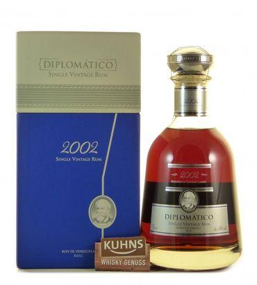 Diplomatico 2002 Single Vintage Rum 0,7l, alc. 43 Vol.-%, Rum Venezuela