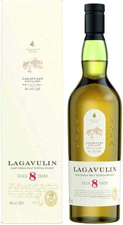 Lagavulin 8 Jahre Islay Single Malt Scotch Whisky 0,7l, alc. 48 Vol.-%