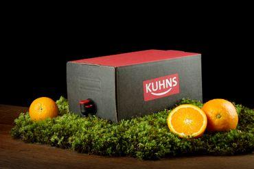 Kuhns Orangensaft Bag in Box 2x5,0l
