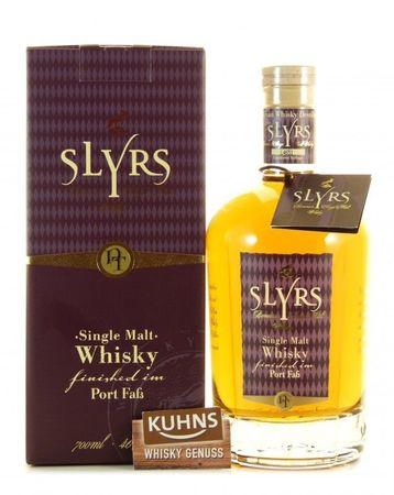 Slyrs Port Bavarian Single Malt Whisky 0,7l, alc. 46 Vol.-%, Deutscher Whisky