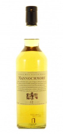 Mannochmore 12 Jahre Flora & Fauna Speyside Single Malt Scotch Whisky 0,7l, 43 Vol.-%