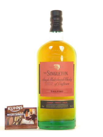 The Singleton of Dufftown Tailfire Speyside Single Malt Scotch Whisky 0,7l, 40 Vol.-%