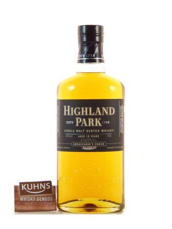 Highland Park 10 Jahre Ambassador's Choice Orkney Single Malt Scotch Whisky 0,7l alc. 46 Vol.-%