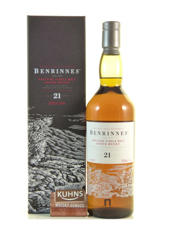 Benrinnes 21 Jahre Speyside Single Malt Scotch Whisky 0,7l, alc. 56,9 Vol.-%
