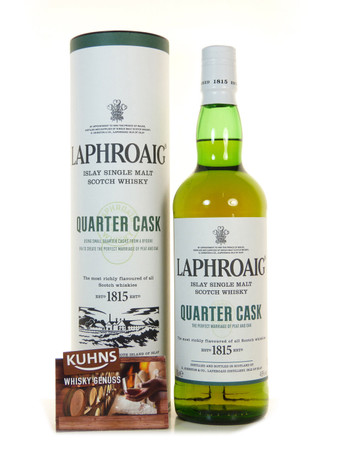 Laphroaig Quarter Cask Islay Single Malt Scotch Whisky 0,7l, alc. 48 Vol.-%