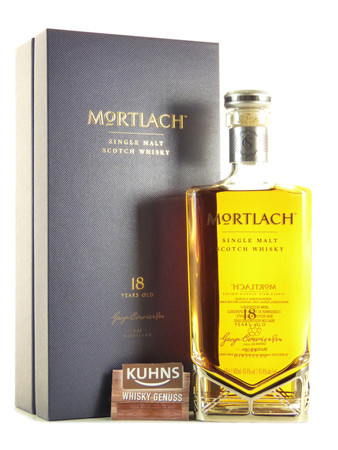 Mortlach 18 Jahre Speyside Single Malt Scotch Whisky 0,5l, alc. 43,4 Vol.-%
