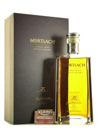 Mortlach 25 Jahre Speyside Single Malt Scotch Whisky 0,5l alc. 43,4 Vol.-%