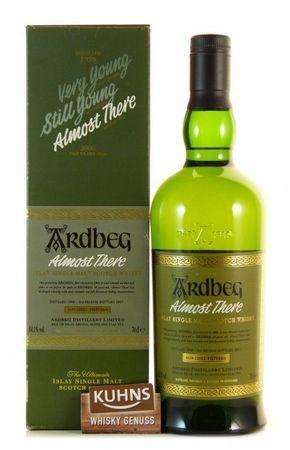 Ardbeg Almost There 0,7l, alc. 54,1 Vol.-%, Islay Single Malt Scotch Whisky