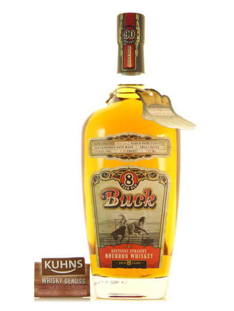 Buck 8 Jahre Kentucky Straight Bourbon Whiskey 0,7l, alc. 45 Vol.-%, USA Whiskey
