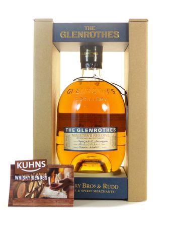 Glenrothes Minister's Reserve Speyside Single Malt Scotch Whisky 0,7l, alc. 43 Vol.-%