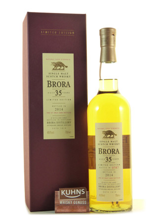 Brora 35 Jahre Limited Edition 2014 Highland Single Malt Scotch Whisky 0,7l, alc. 48,6 Vol.-%