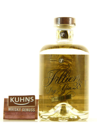 Filliers 28 Barrel Aged Dry Gin 0,5l, alc. 43,7 Vol.-%, Dry Gin Belgien