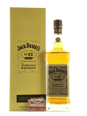 Jack Daniels No.27 Gold 0,7l, alc. 40 Vol.-%, USA Tennessee Whiskey