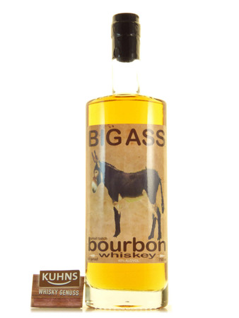 Big Ass Small Batch Bourbon Whiskey 0,7l, alc. 45 Vol.-%, USA Whiskey