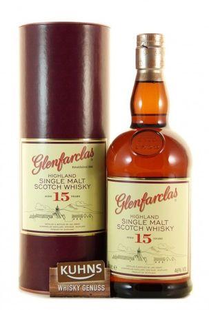 Glenfarclas 15 Jahre Speyside Single Malt Scotch Whisky 0,7l, alc. 46 Vol.-%