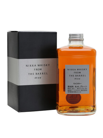 Nikka From the Barrel Blended Whisky 0,5l, alc. 51,4 Vol.-%, Japan Blended Whisky