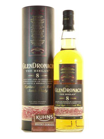 GlenDronach 8 Jahre The Hielan Speyside Single Malt Scotch Whisky 0,7l, alc. 46 Vol.-%