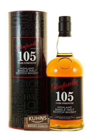 Glenfarclas 105 Cask Strength Speyside Single Malt Scotch Whisky 0,7l, alc. 60 Vol.-%