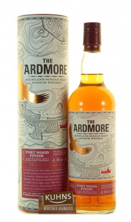 Ardmore 12 Jahre Port Wood Finish Highland Single Malt Scotch Whisky 0,7l 46 Vol.-%