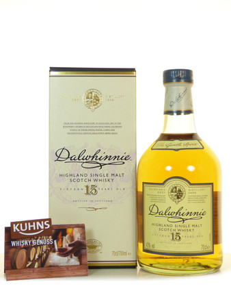 Dalwhinnie 15 Jahre Highland Single Malt Scotch Whisky 0,7l, alc.43 Vol.-%