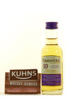 Tomintoul 10 Jahre Miniatur Speyside Single Malt Scotch Whisky 0,05l, alc. 40 Vol.-% 001