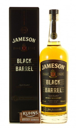 Jameson Black Barrel Irish Whiskey 0,7l, alc. 40 Vol.-%