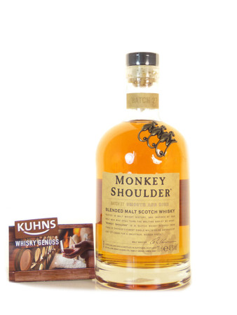 Monkey Shoulder Blended Scotch Whisky 0,7l, alc. 40 Vol.-%