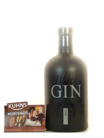 Gansloser Black Gin 0,7l, alc. 45 Vol.-%, Dry Gin Deutschland