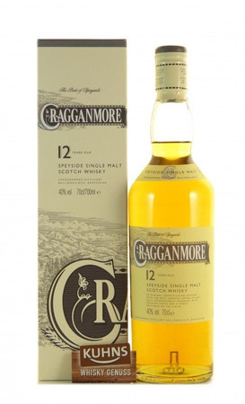 Cragganmore 12 Jahre Speyside Single Malt Scotch Whisky 0,7l, alc. 40 Vol.-%