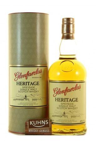 Glenfarclas Heritage Speyside Single Malt Scotch Whisky 0,7l, alc. 40 Vol.-%