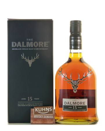 Dalmore 15 Jahre Highland Single Malt Scotch Whisky 0,7l, alc. 40 Vol.-%
