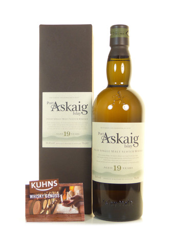 Port Askaig 19 Jahre Islay Single Malt Scotch Whisky 0,7l, alc. 50,4 Vol.-%